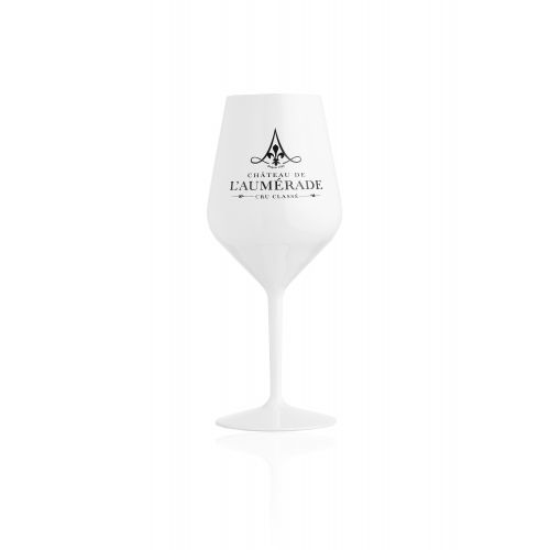 Verre Plexi Blanc - Château de l'Aumérade