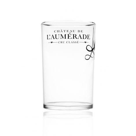 Seau à glace transparent - Château de l'Aumérade