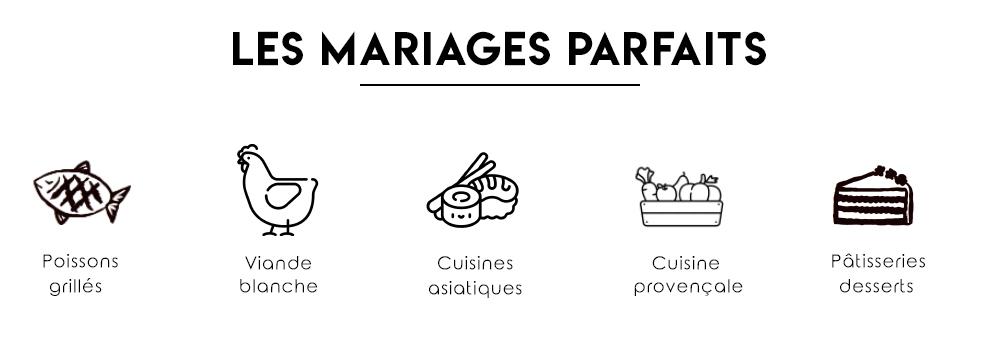 LES MARIAGES PARFAITS
